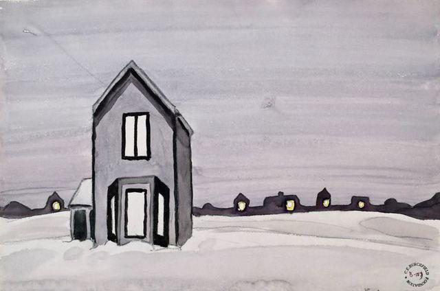, 'Gray House,' ca. 1920, Bernard Goldberg Fine Art