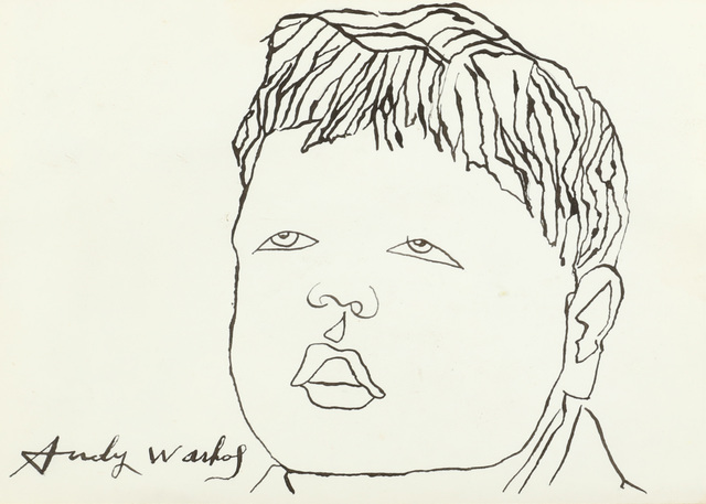 Andy Warhol, 'untitled', circa 1950s, Chiswick Auctions