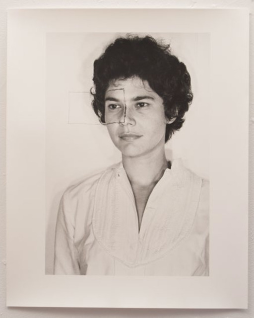 , 'Untitled (Self portrait with square II),' 1973, Mor Charpentier