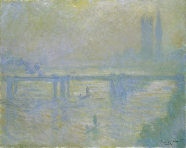 , 'Charing Cross Bridge,' 1902, Princeton University Art Museum