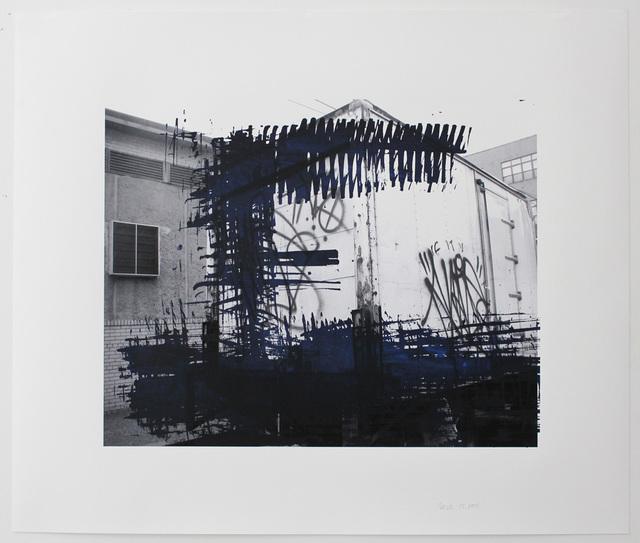 , 'Photo-Print #20,' 2015, Galerie Les filles du calvaire