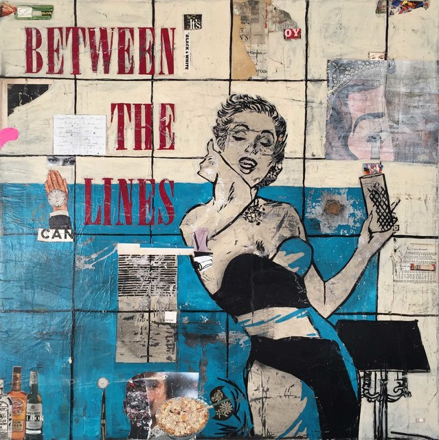 , 'Between the Lines,' 2016, Caldwell Snyder Gallery