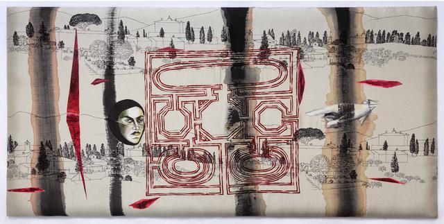 , 'Runway of Wounds – I,' 2015, Chemould Prescott Road