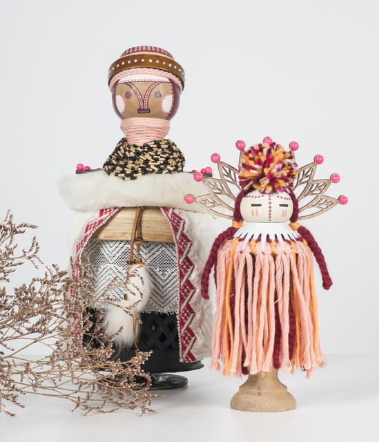 , 'Ceressea (Goddess of Cultivation) (left),' 2018, Jonathan LeVine Projects