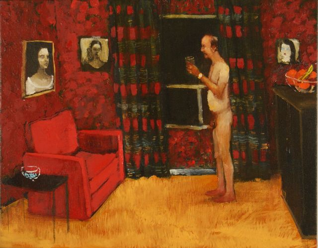 , 'Skinny Drinking,' 2015, Galerie de Bellefeuille