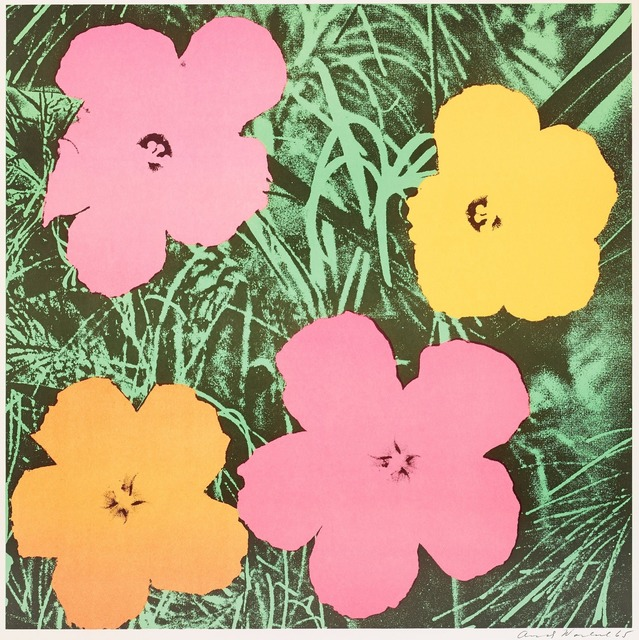Andy Warhol, 'Flowers', 1968, Print, Offset lithograph, Lush Art Agency