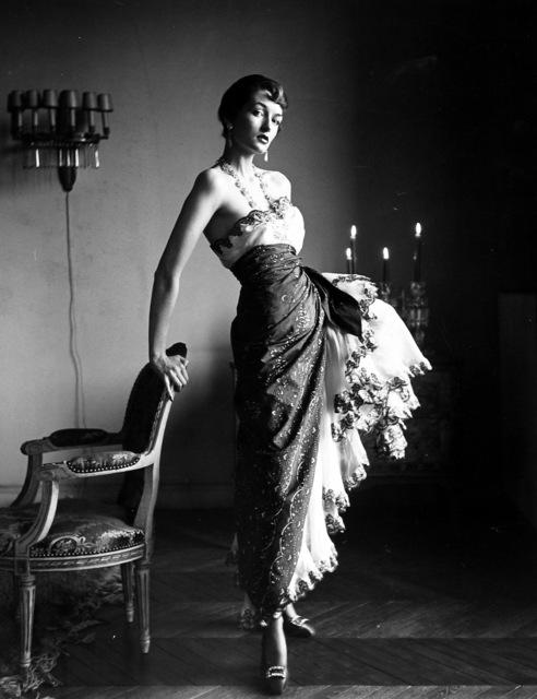 , 'Paris Fashions, Countess Maxine de la Falaise,' 1950, Howard Greenberg Gallery