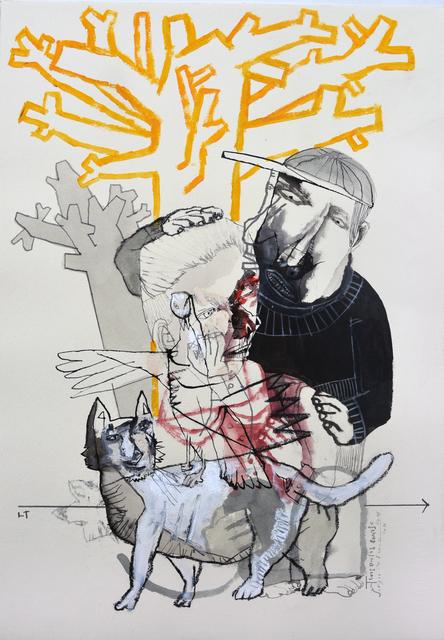 , 'Arbol Genial Logico V,' 2016, Galerie Claire Corcia