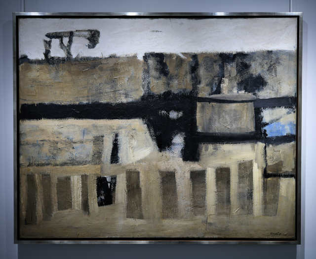 , 'Invasion,' 1955, Canadian Art Group