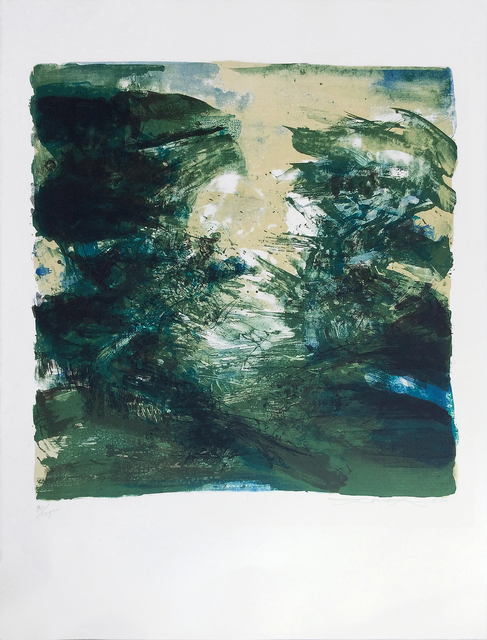 , 'Composition verte,' 1970, Han Art