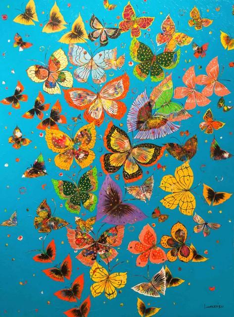 , 'Vol de Papillons,' 2018, Galerie Montmartre