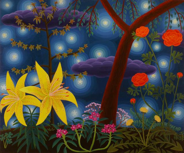 , 'Lily and Ranunculus,' 2017, Morgan Lehman Gallery