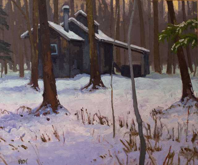 Réjean Roy, 'La cabane solitaire', 2019, Gallery 78