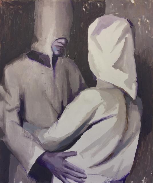 , 'Two Hooded Figures,' 2017, bo.lee gallery
