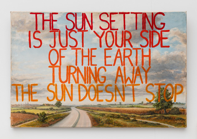 , 'The Sun Doesn't Stop,' 2016, Rowing