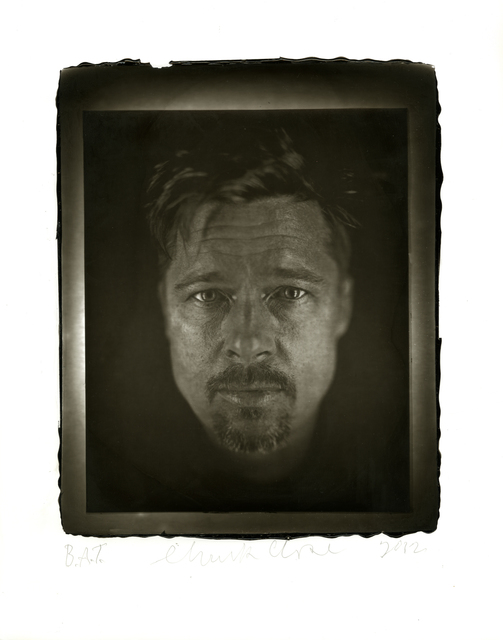 Chuck Close, 'Brad,' 2012, Two Palms