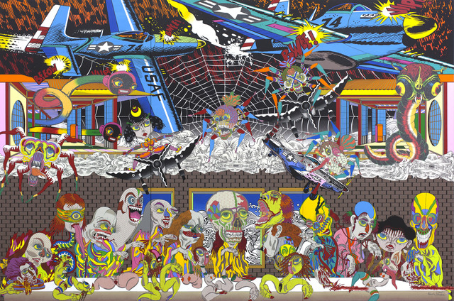Keiichi Tanaami, 'The Last Supper', 2015, Sikkema Jenkins & Co.