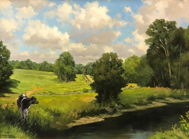 Harley Bartlett, 'August Fields', 2018, The Guild of Boston Artists