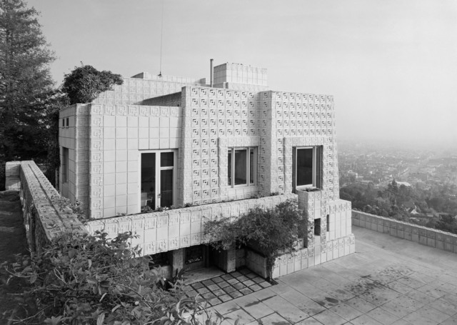 , 'Ennis House, Frank Lloyd Wright, Los Angeles, CA,' 1954, Yossi Milo Gallery