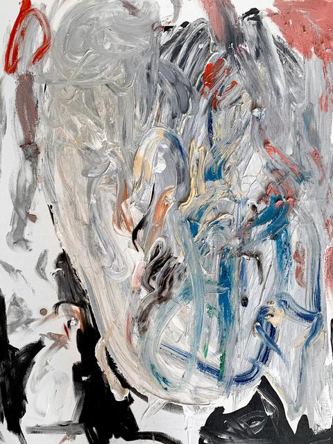 Mani Vertigo, 'Abstract Complex Feeling', Painting, Oil, acrylic and marker on canvas, Galleri Duerr