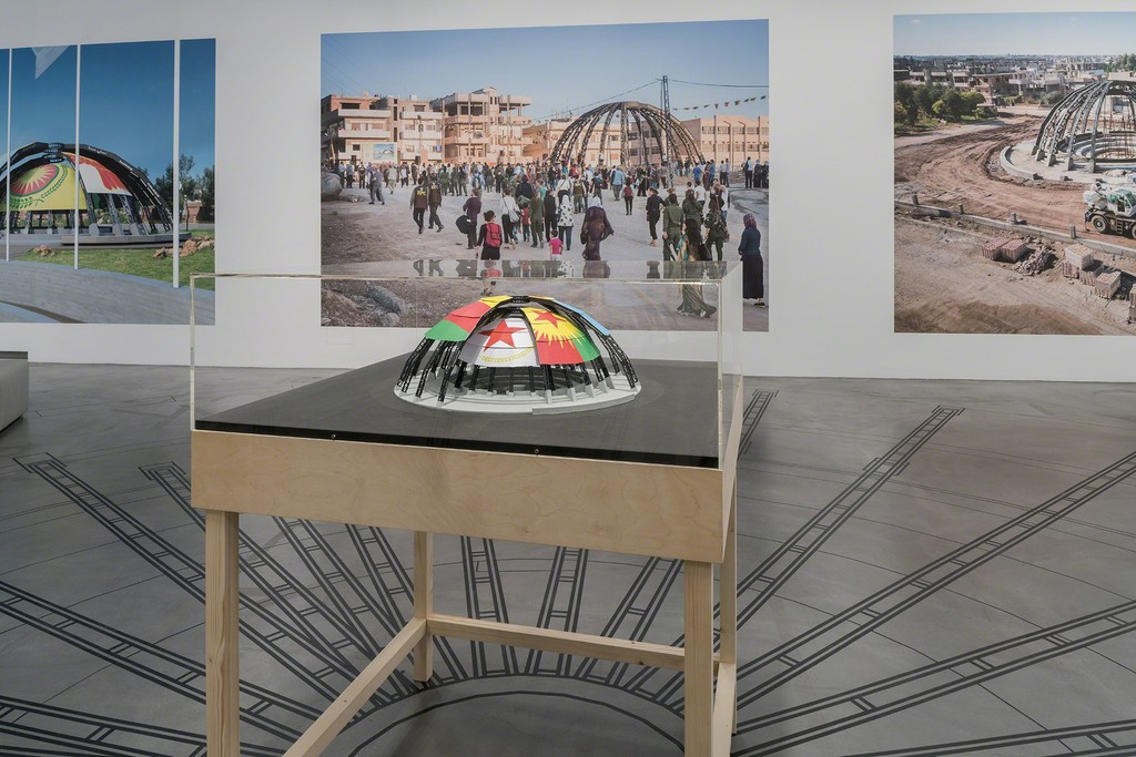 Democratic Self-Administration of Rojava and Studio Jonas Staal, New World Summit – Rojava, 2015–
