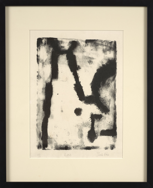 Perle Fine, 'Lair', 1948, Print, Lithograph on woven paper, Berry Campbell Gallery