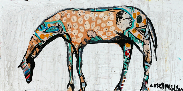 , 'Mexican Horse,' 2018, Newzones
