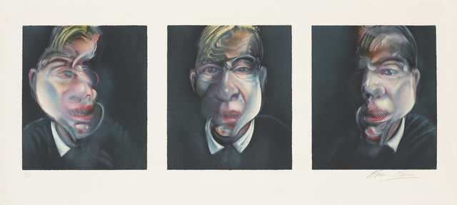 , 'Three Studies for a Self Portrait,' 1981, Tanya Baxter Contemporary