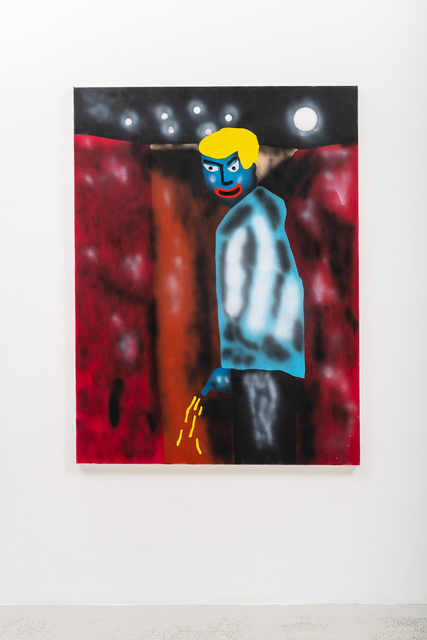 , 'Pissing up the wrong tree,' 2018, Annka Kultys Gallery