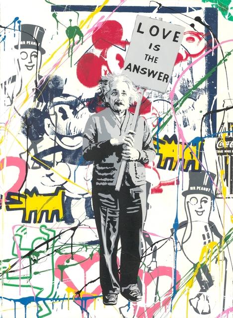 Mr. Brainwash, 'Einstein meets Mickey', 2019, Frank Fluegel Gallery