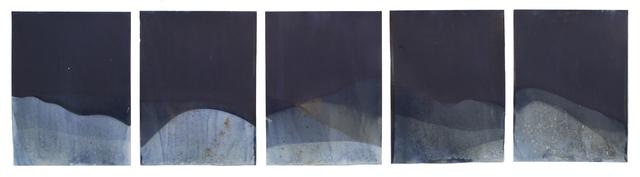 , 'Muybridge Tides #45 (Rapidly Submerged Paper, Honking Geese Pond, Woodbury, GA, 12.19.17),' 2017, Jackson Fine Art