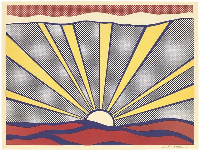 Roy Lichtenstein, 'Sunrise', 1965, Fine Art Mia