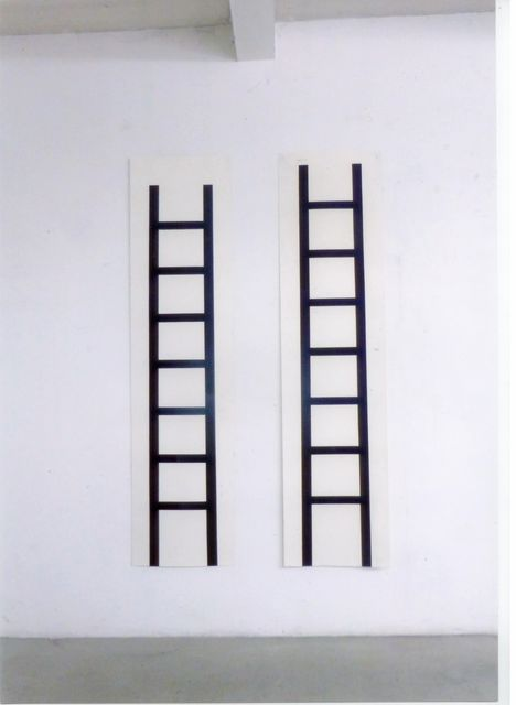 , 'Zwei Leitern (two ladders),' 1992, Häusler Contemporary