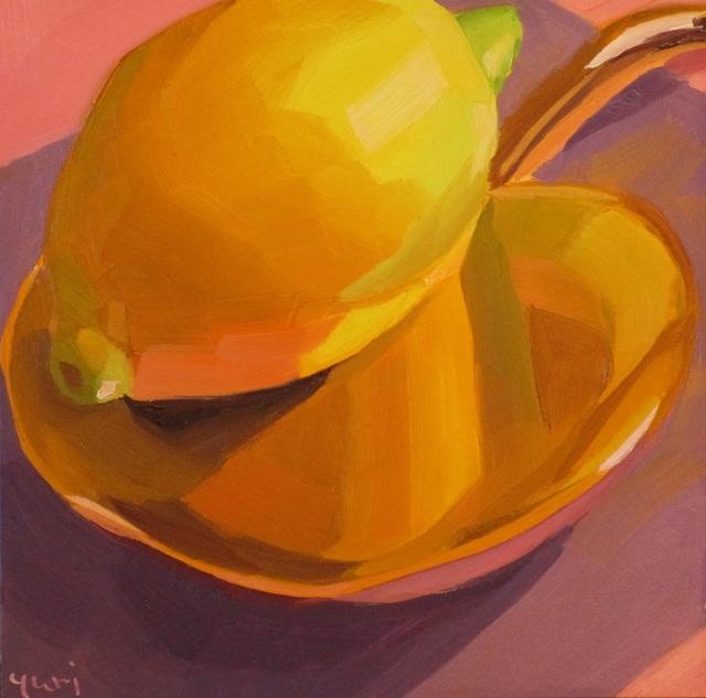 Yuri Tayshete, 'Golden Lemon', 2019, 440 Gallery
