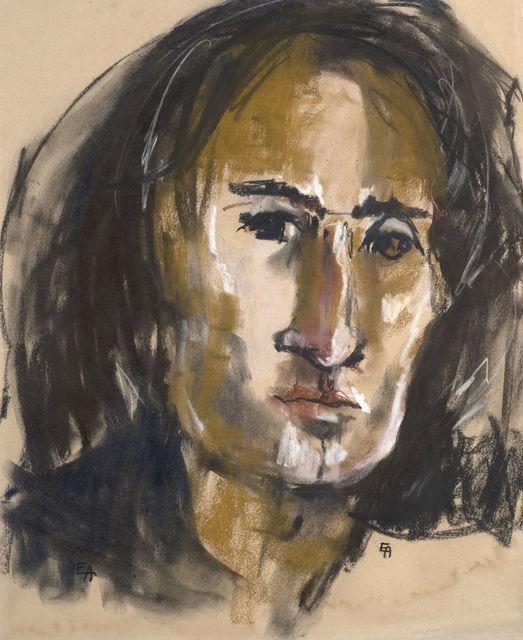 , 'Portrait of Arnold Wesker,' ca. 1950, Ben Uri Gallery and Museum