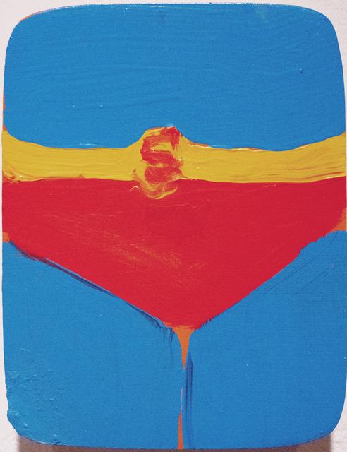 , 'Superman Underpants on Shaker wood box,' 2014, Richard Levy Gallery
