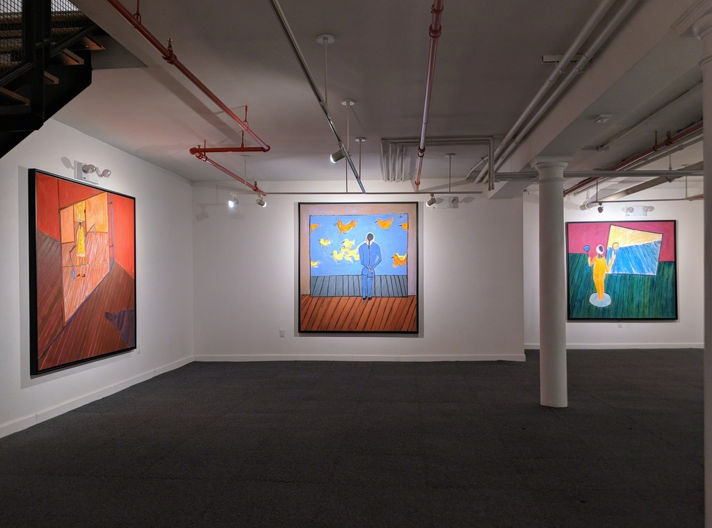 Installation View, Lower Level Gallery