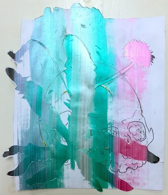 , 'Post mortem vanitas (paardebloem),' 2018, Galerie Bart