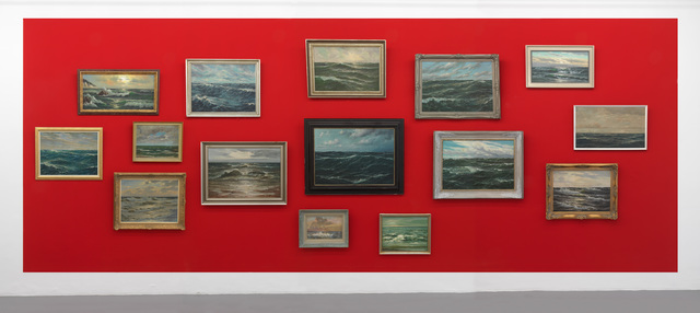 , 'Sea pantings, 15 old paintings with frames.,' , Galleria Massimo Minini