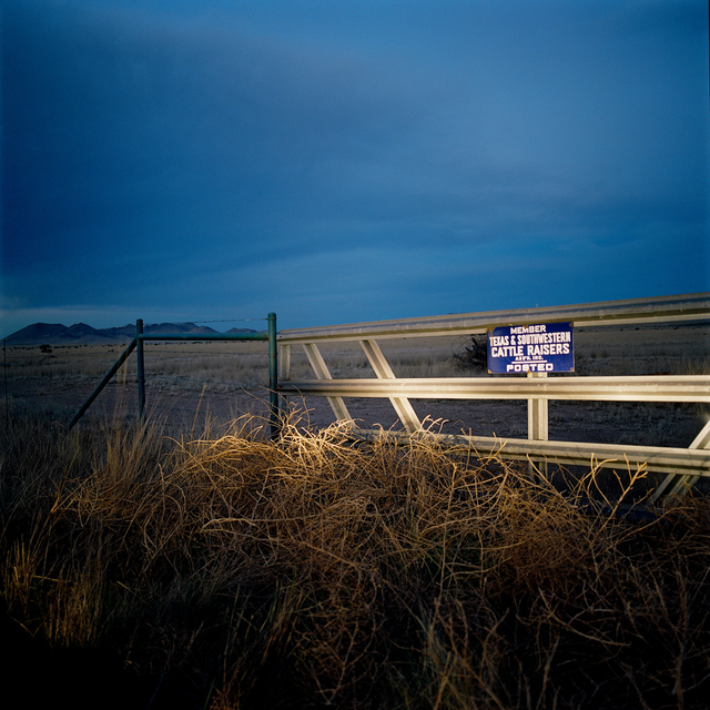 , 'Ranch Land. Marfa, Texas,' 2014, Barry Whistler Gallery