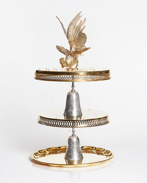 , 'The Golden Cock ,' 2018, CFHILL