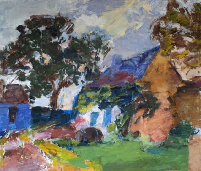 , 'Cottage by the Road,' 2019, Valley House Gallery & Sculpture Garden