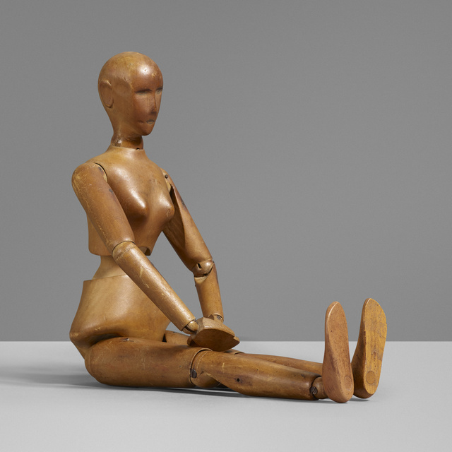 'Articulated artist model', c. 1910, Other, Rago/Wright