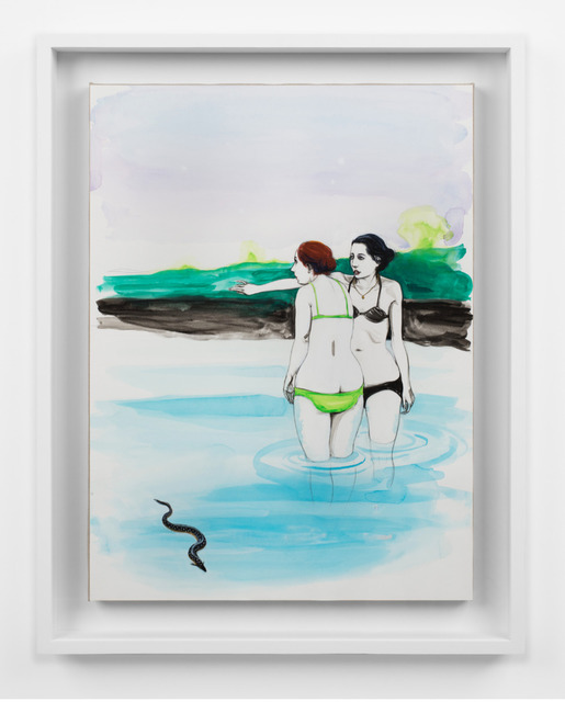 , 'Untitled (Two women and eel),' 2016, GRIMM