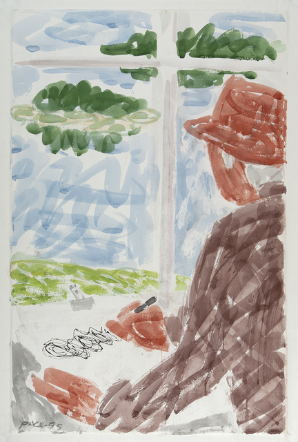 , 'Drawing Window View,' 1995, Dowling Walsh