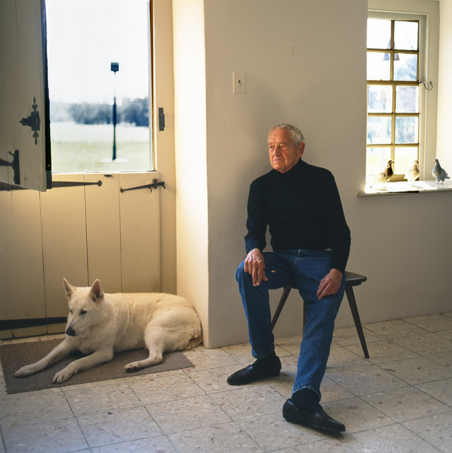 Harry Benson, 'Andrew Wyeth', 1996, Staley-Wise Gallery