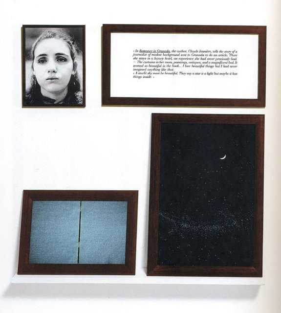 , 'Romance in Granada - The Blind,' 1986, A3 Arndt Art Agency