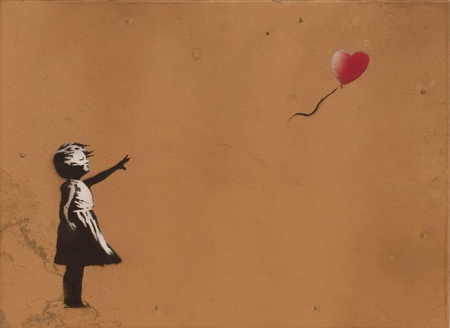 , 'Girl with Balloon (Copper),' 2006, Lazinc