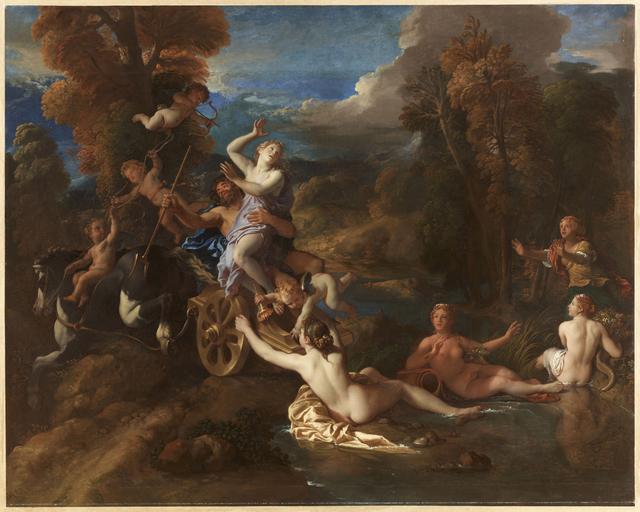 , 'L'enlèvement de Proserpine (The Abduction of Persephone),' 1673, Château de Versailles