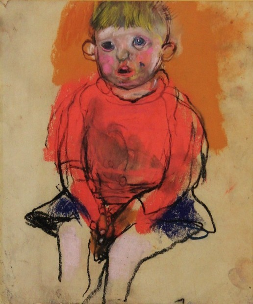 , 'Boy in a red jumper,' , Castlegate House Gallery